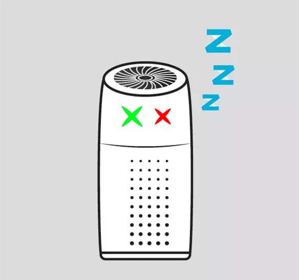 菲尔博德空气净化器指示灯
